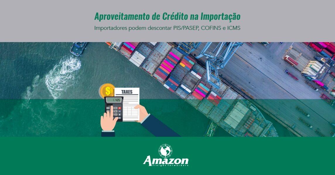 Aproveitamento de crédito na importação