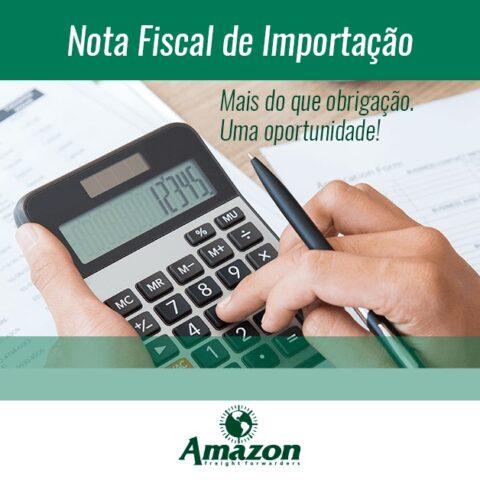 Emissão Nota Fiscal de Importação